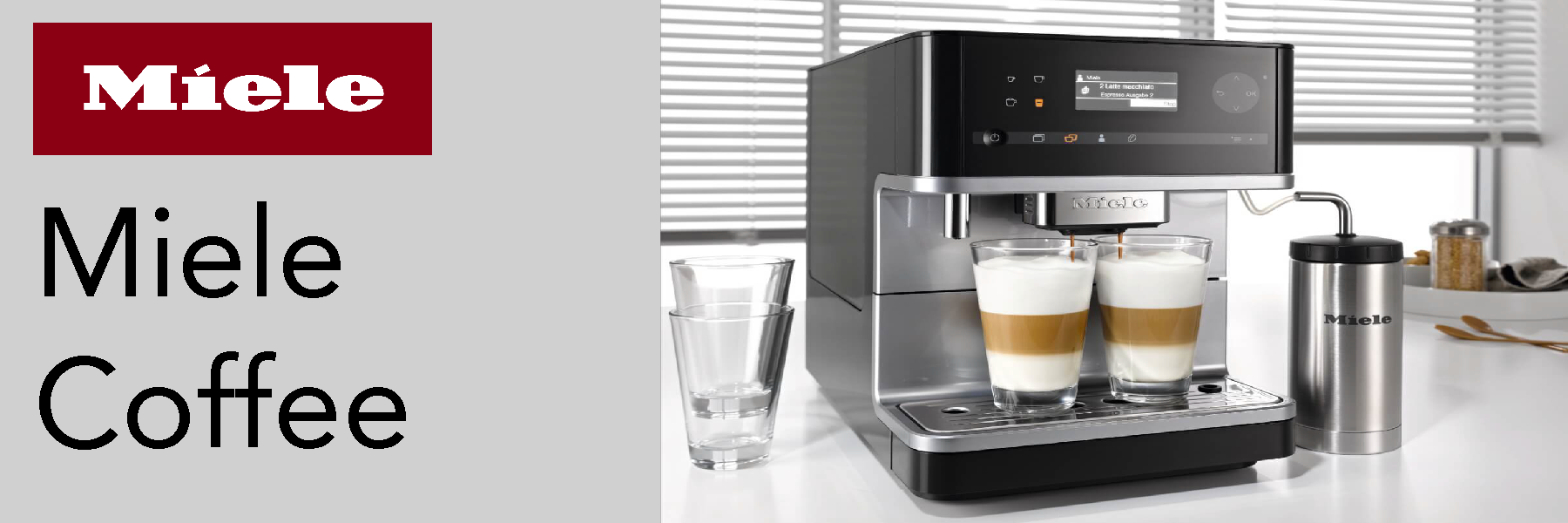 Miele Integrated Coffee